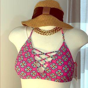 🍀 All For Color - Strappy Bikini Top